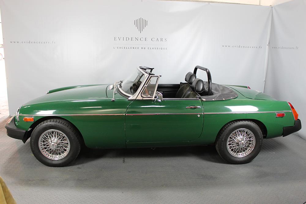 mgb brooklands green 77 vendre voitures classiques et de collection. Black Bedroom Furniture Sets. Home Design Ideas